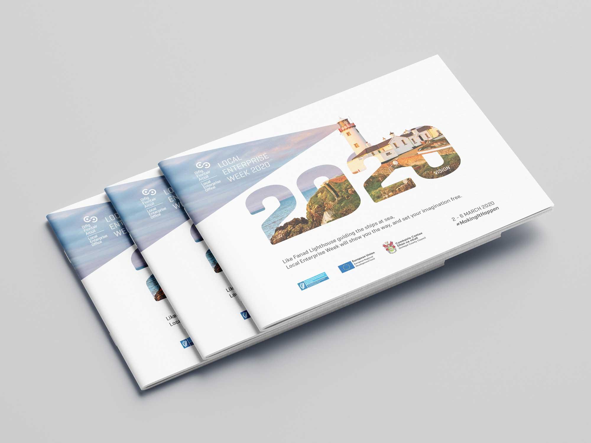 Donegal Local Enterprise Week 2020 Branding