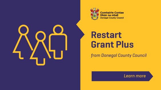 LEO Donegal Business Supports And Vouchers Restart Grant Plus